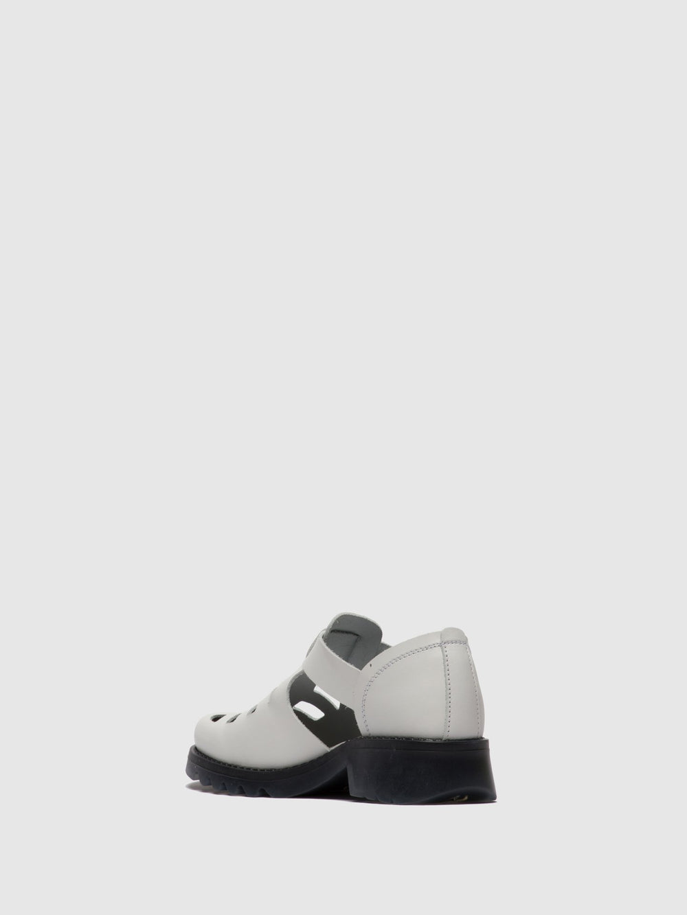 White Buckle Shoes