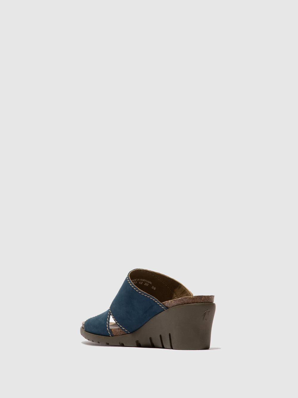 Open Toe Mules IDAR569FLY BLUE/BRONZE