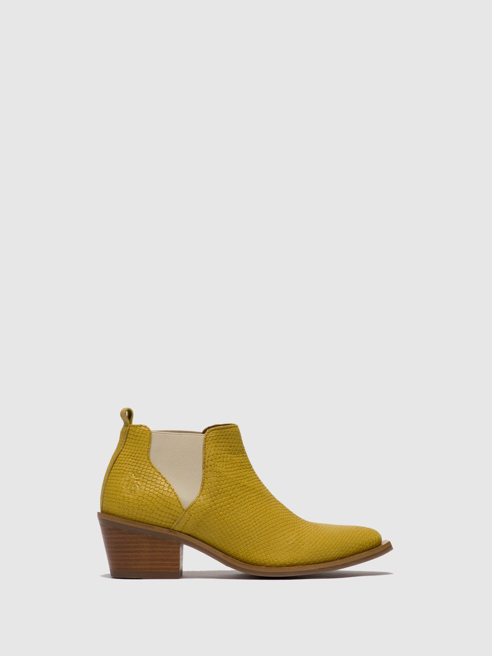 Yellow Chelsea Ankle Boots