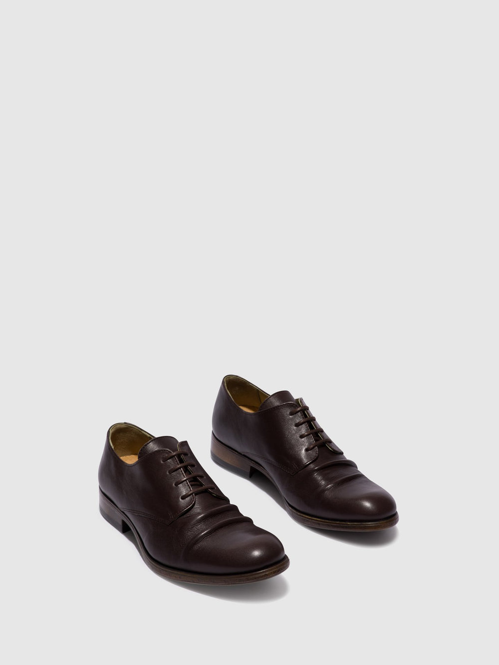 Maroon Lace-up Shoes