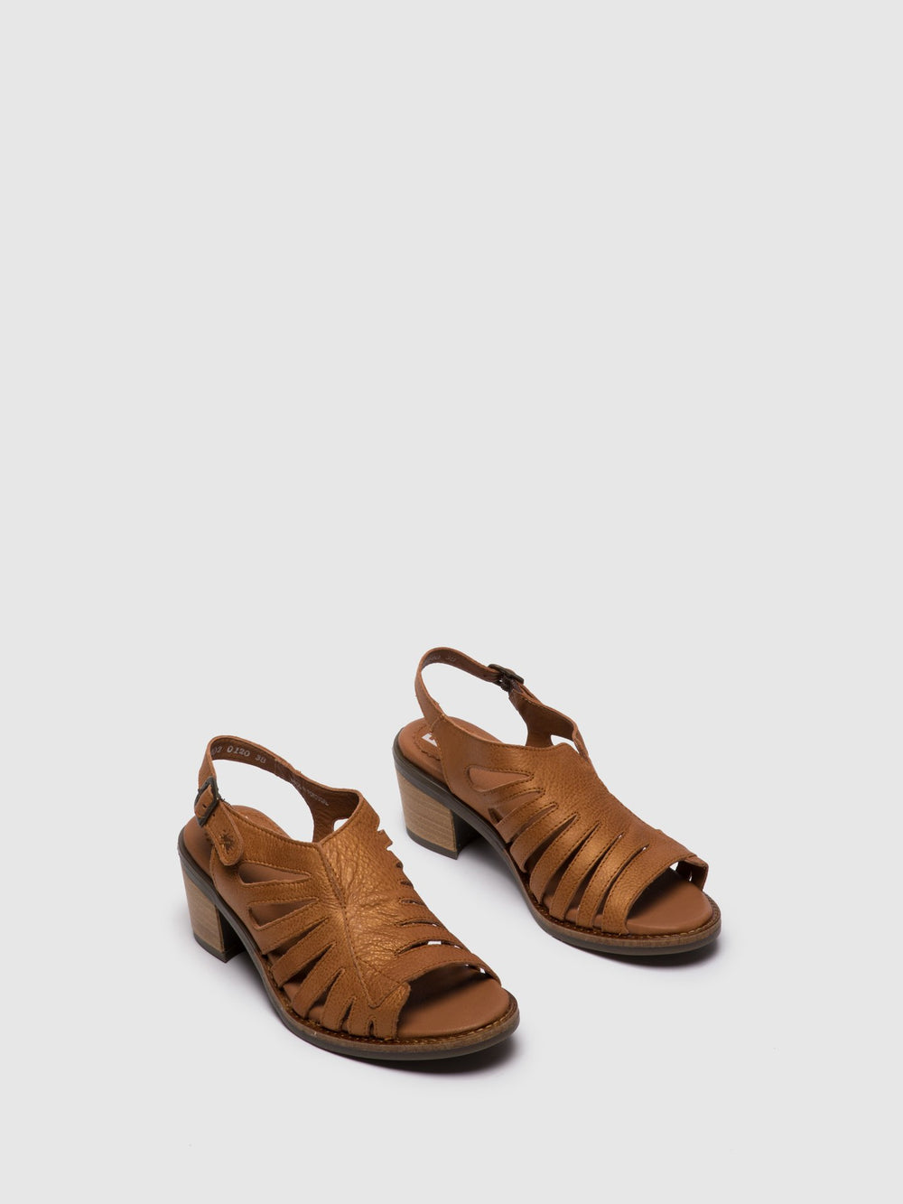 Brown Open Toe Sandals