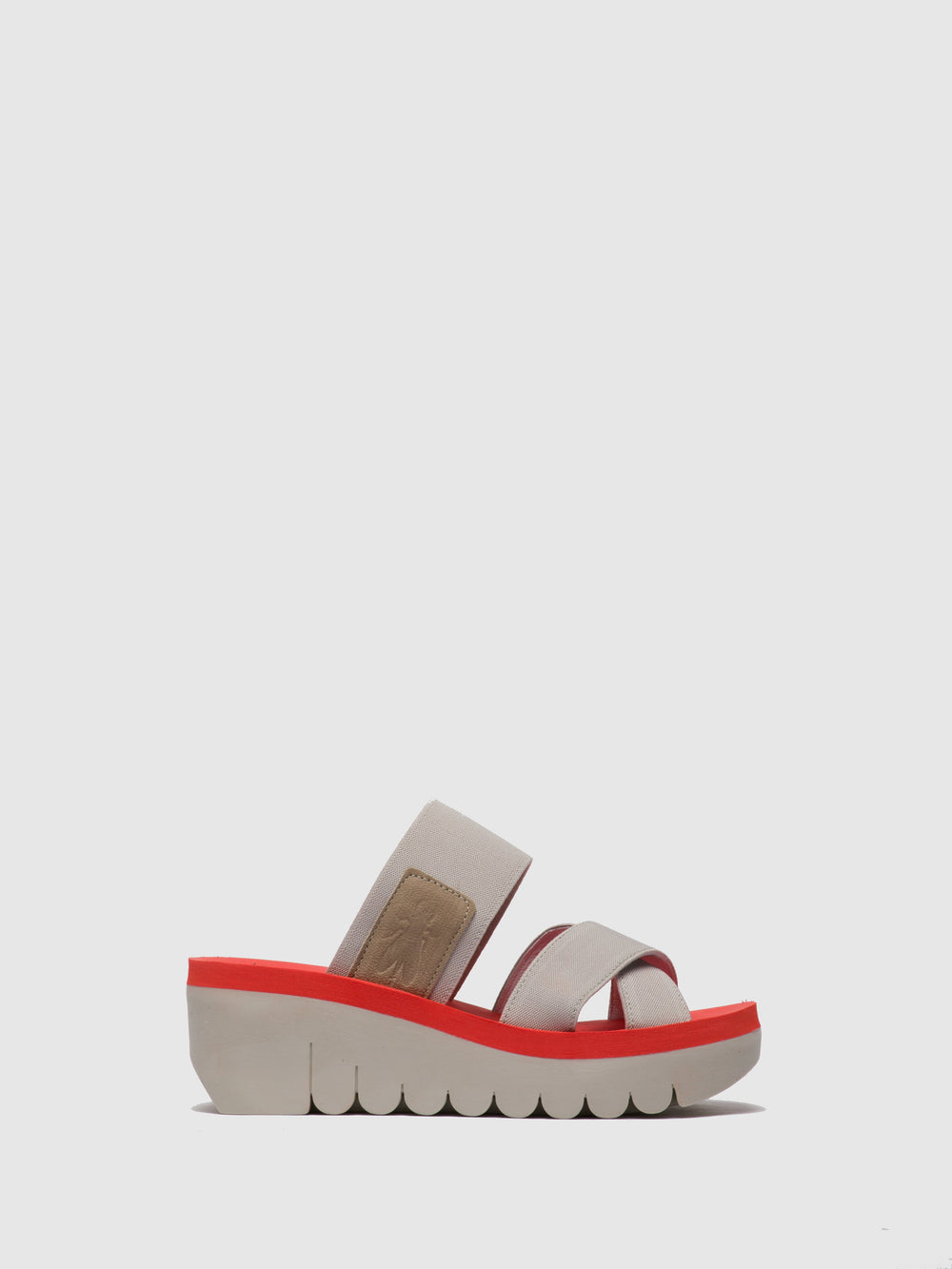 Strappy Mules YABO593FLY CLOUD (RED)