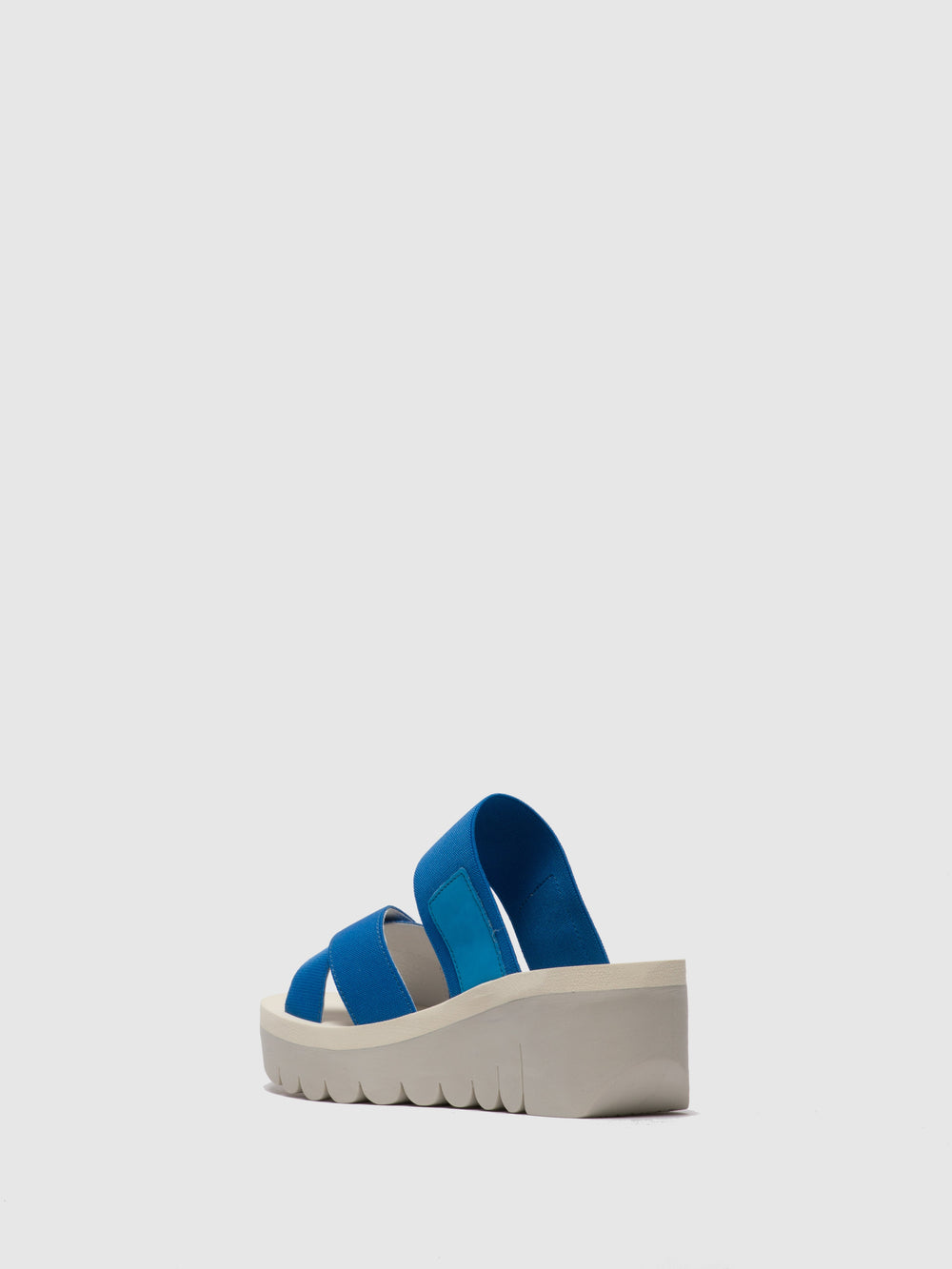 LightBlue Strappy Mules
