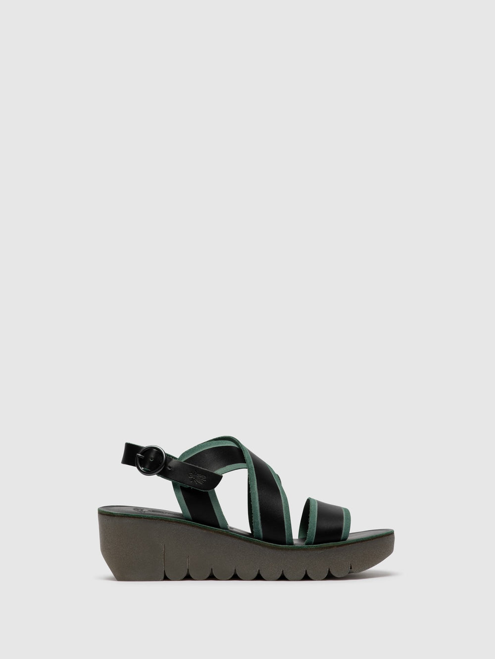 Crossover Sandals YAZE605FLY BLACK/GREEN