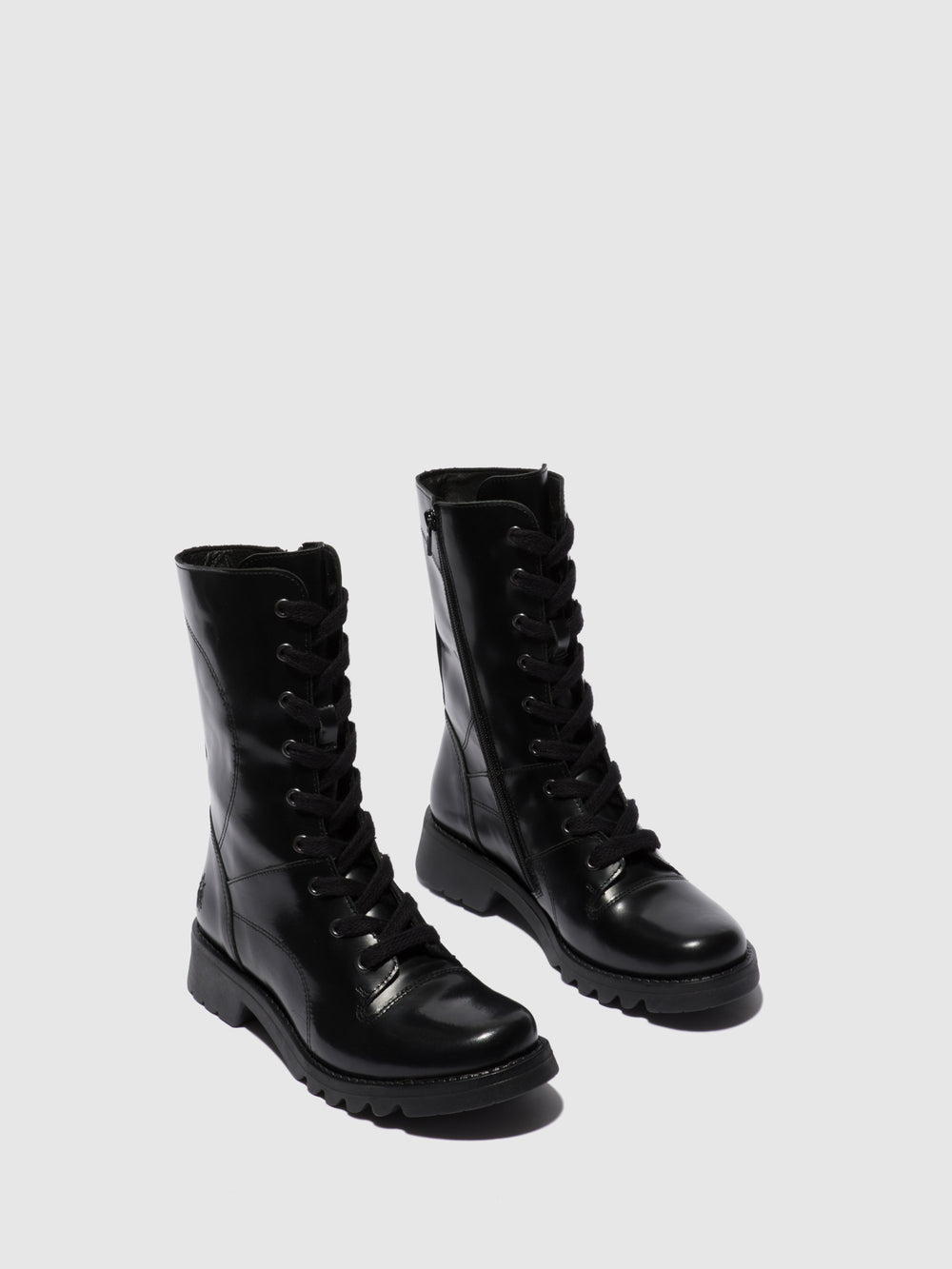Lace-up Boots REBA640FLY GLASS BLACK