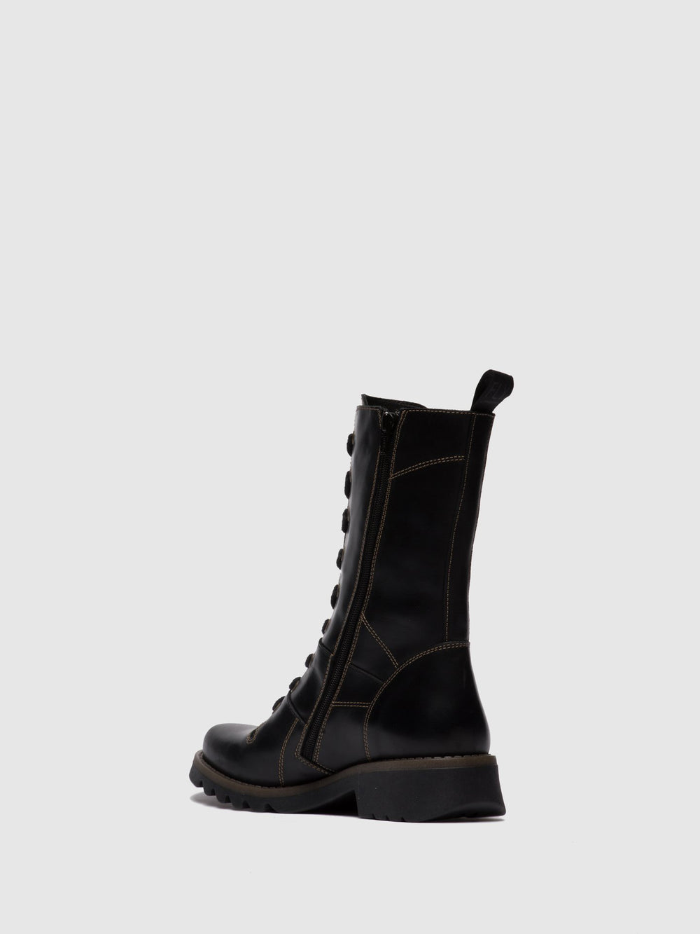 Lace-up Boots REBA640FLY RUG BLACK