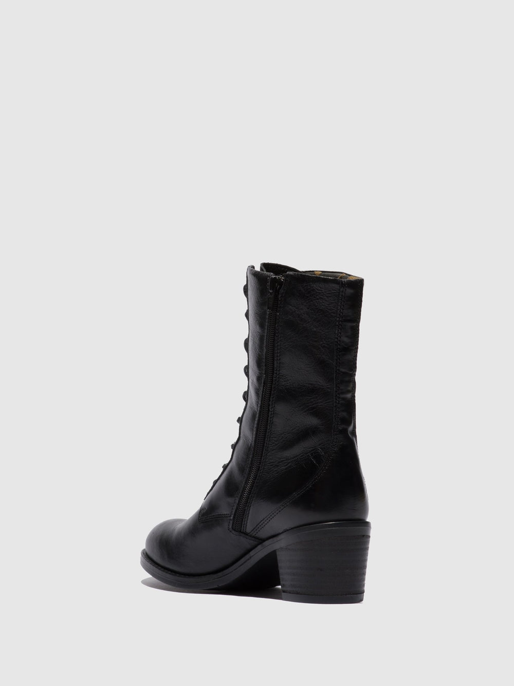 Lace-up Ankle Boots ZETA646FLY COLUMBIA BLACK