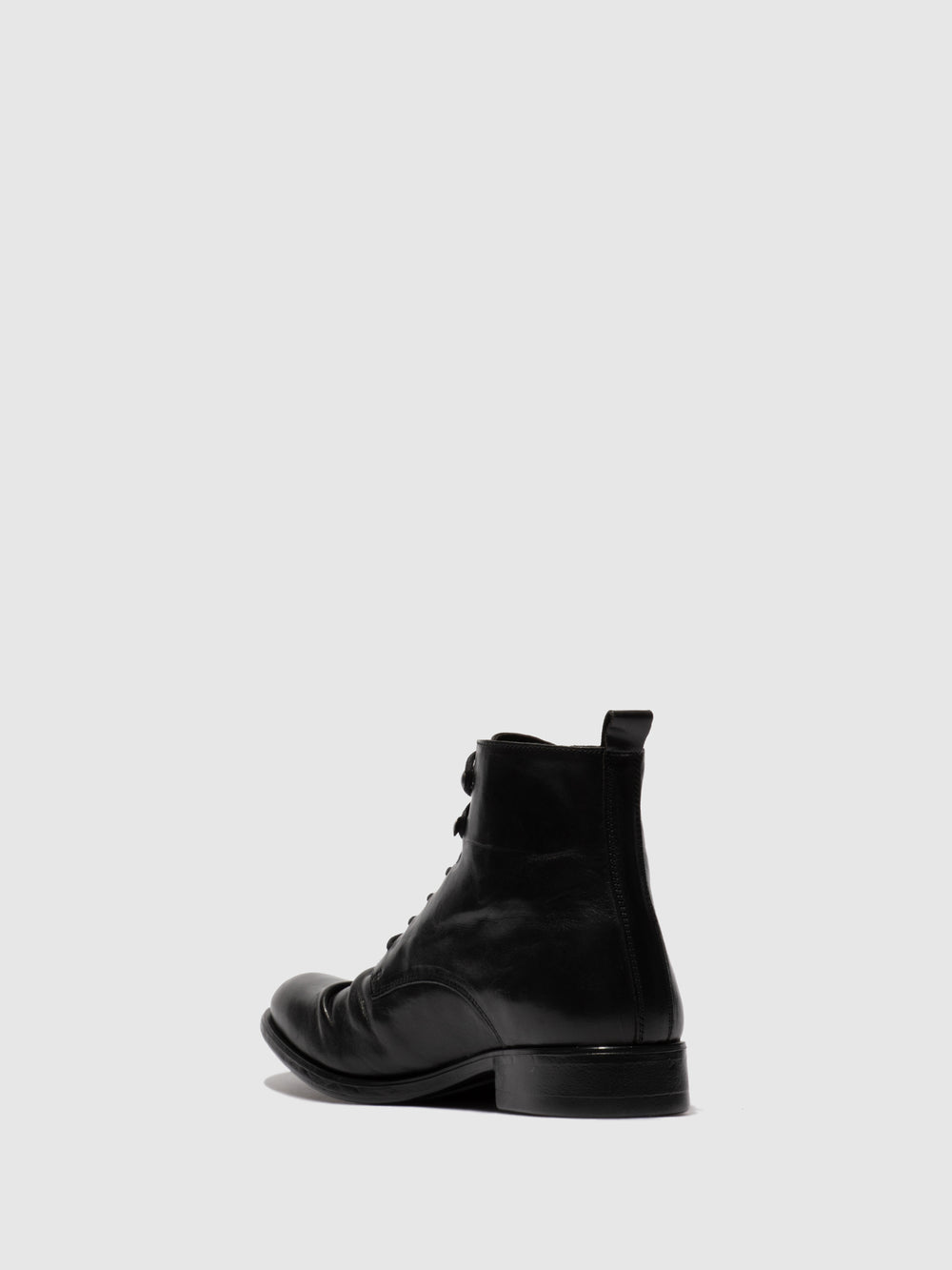 Lace-up Ankle Boots MYKE660FLY ESTIGMA(VEGETAL) BLACK