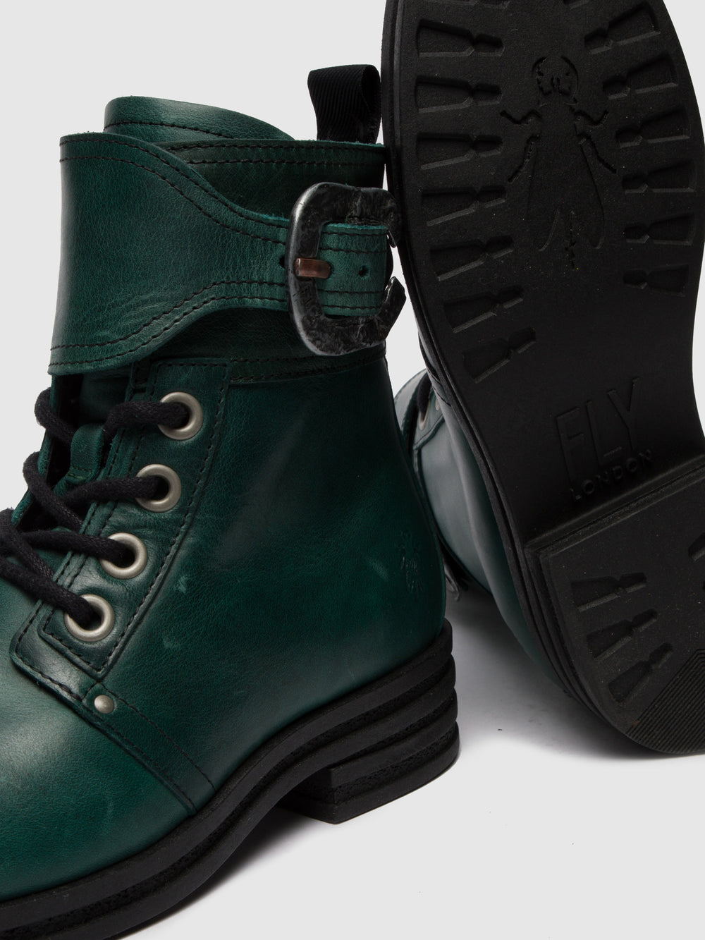 Lace-up Ankle Boots KARA664FLY RUG PETROL