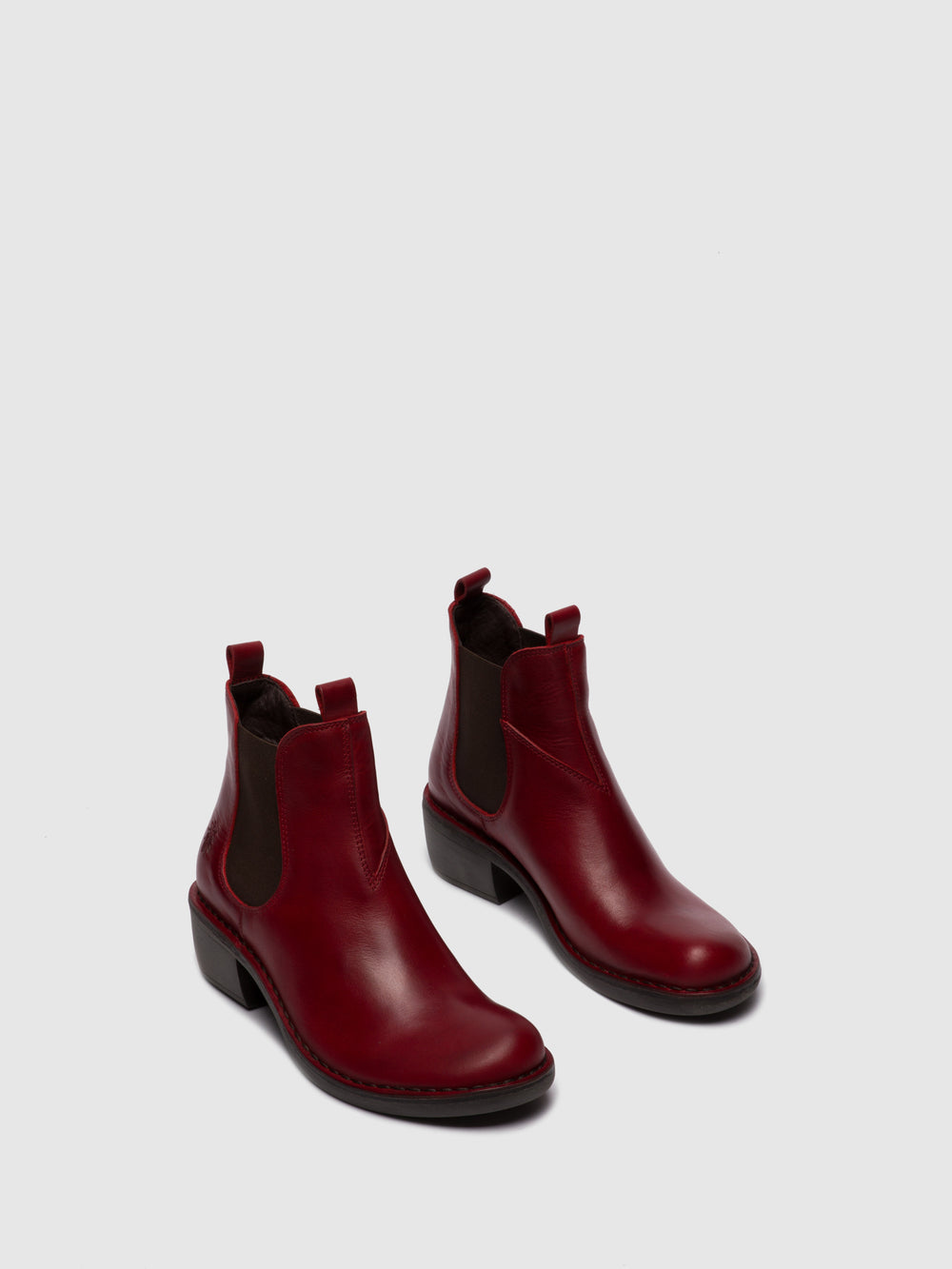 Chelsea Ankle Boots MEME030FLY RUG RED