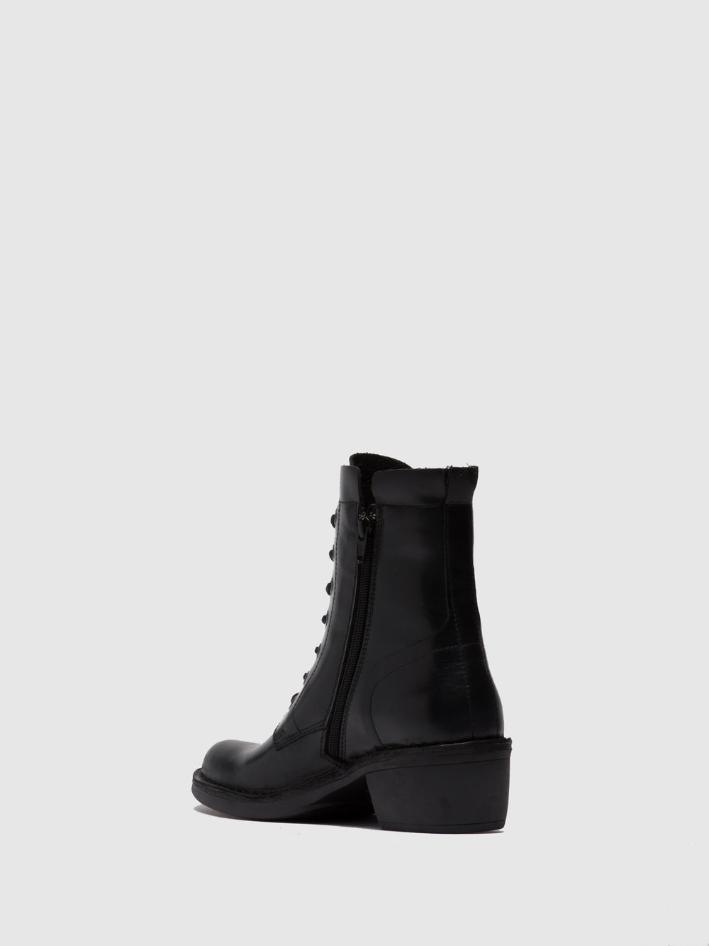 Lace-up Ankle Boots MILU044FLY RUG BLACK