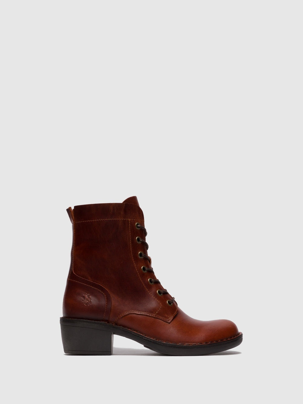 Lace-up Ankle Boots MILU044FLY RUG BRICK