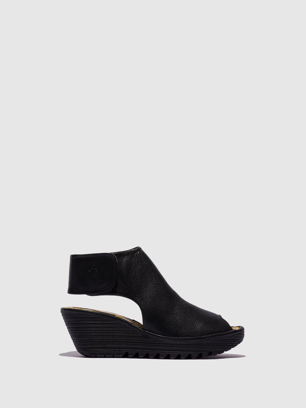 Ankle Strap Sandals YONE642FLY BLACK