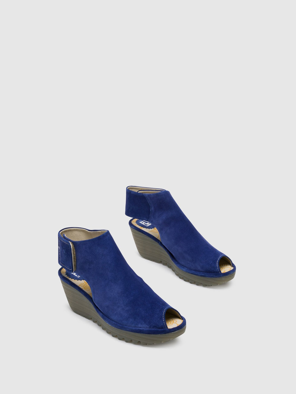 Ankle Strap Sandals YONE642FLY BLUE
