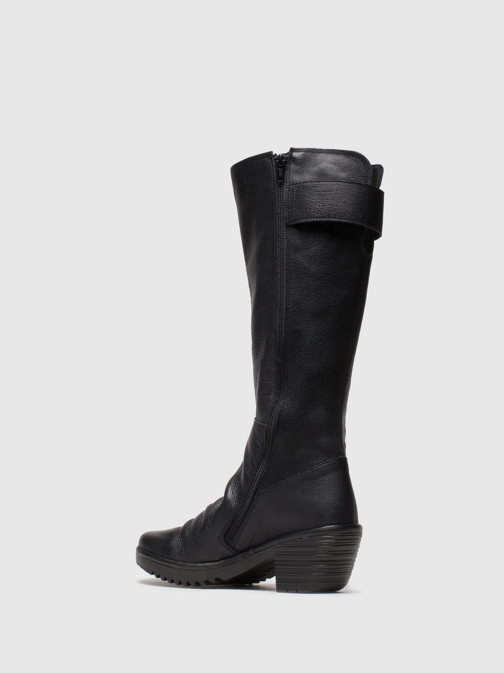 Zip Up Boots WAKI085FLY BLACK