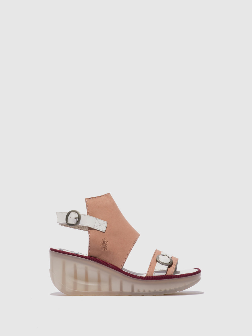 Ankle Strap Sandals JENO104FLY NUDE PINK/OFFWHITE