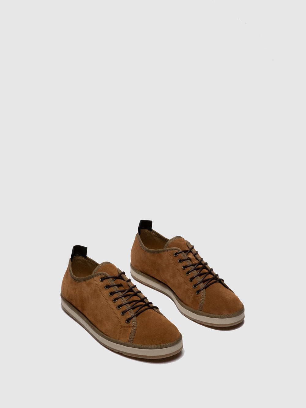 Tan Lace-up Shoes