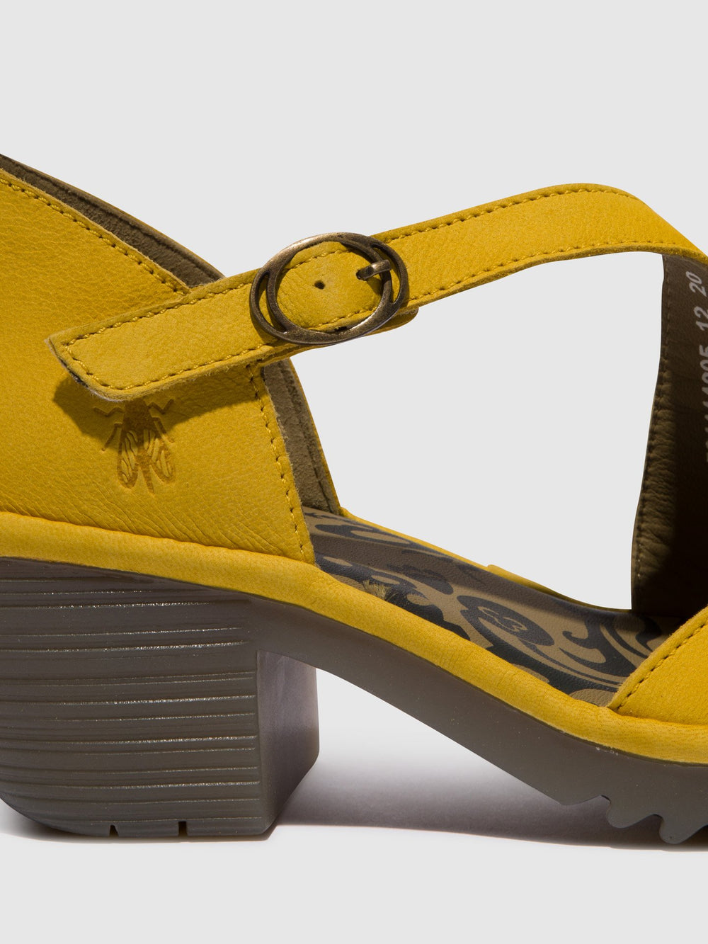 Yellow Velcro Sandals