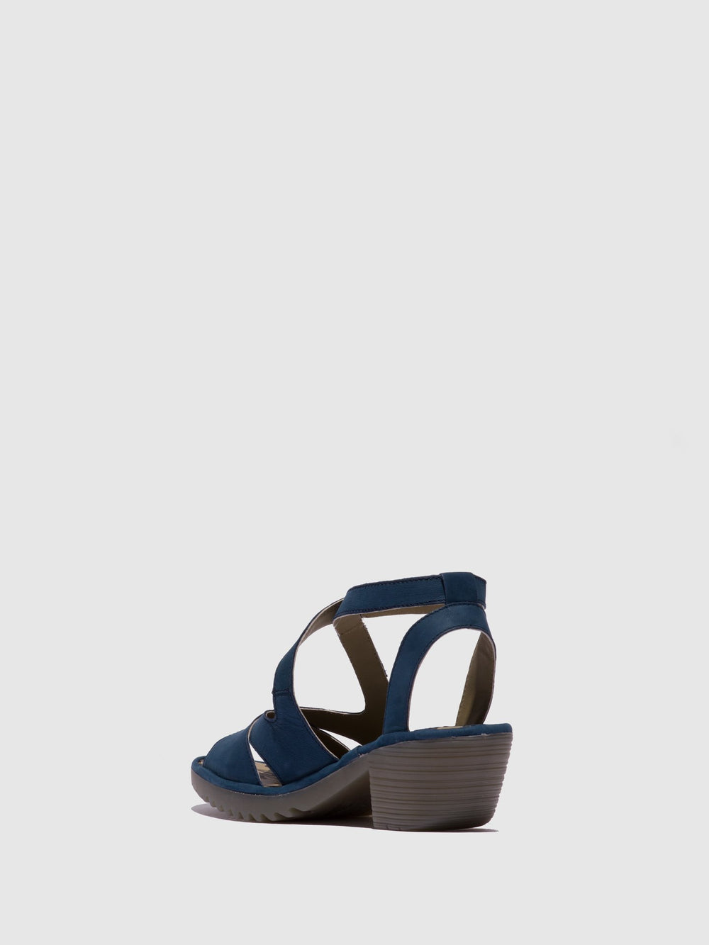 Ankle Strap Sandals WAFE152FLY BLUE