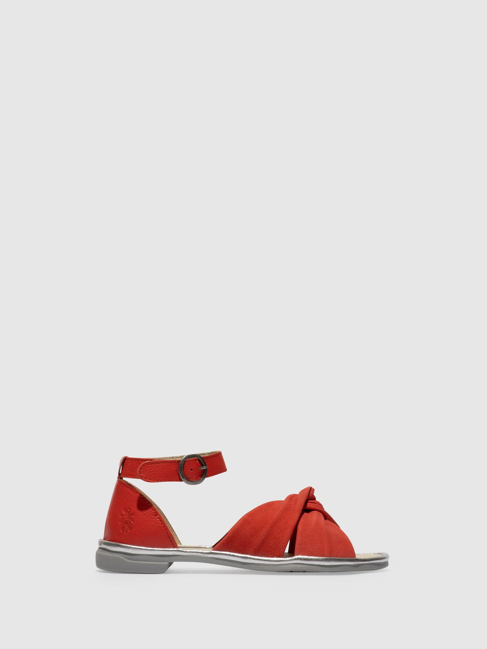 Ankle Strap Sandals COFA167FLY DEVIL RED/DEVIL RED/SILVER
