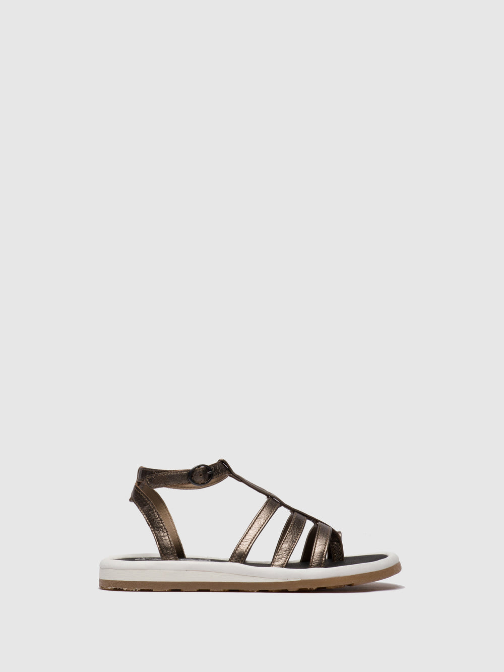 DarkGray Gladiator Sandals
