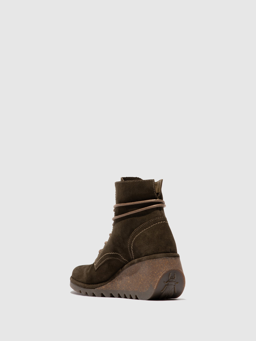Lace-up Ankle Boots NURE195FLY SLUDGE