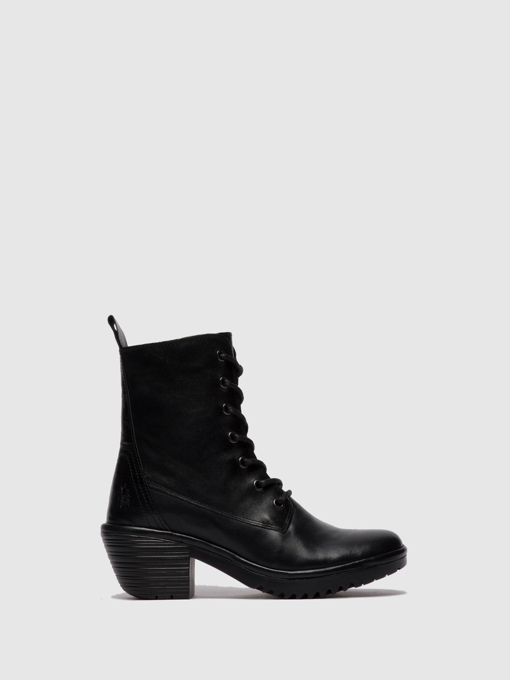 Lace-up Ankle Boots WEBE244FLY COLUMBIA BLACK