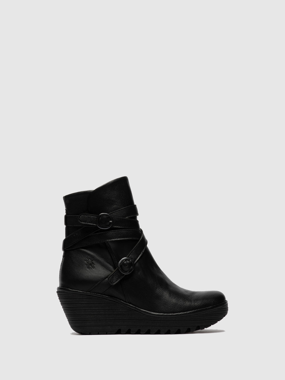 Buckle Ankle Boots YOMO249FLY MOUSSE BLACK