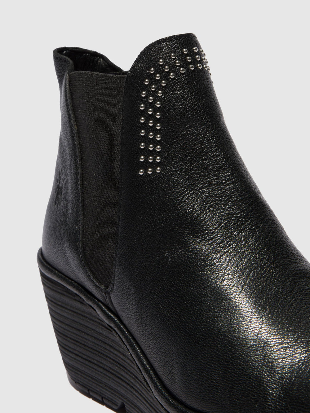 Chelsea Ankle Boots YOSS STUD MOUSSE BLACK