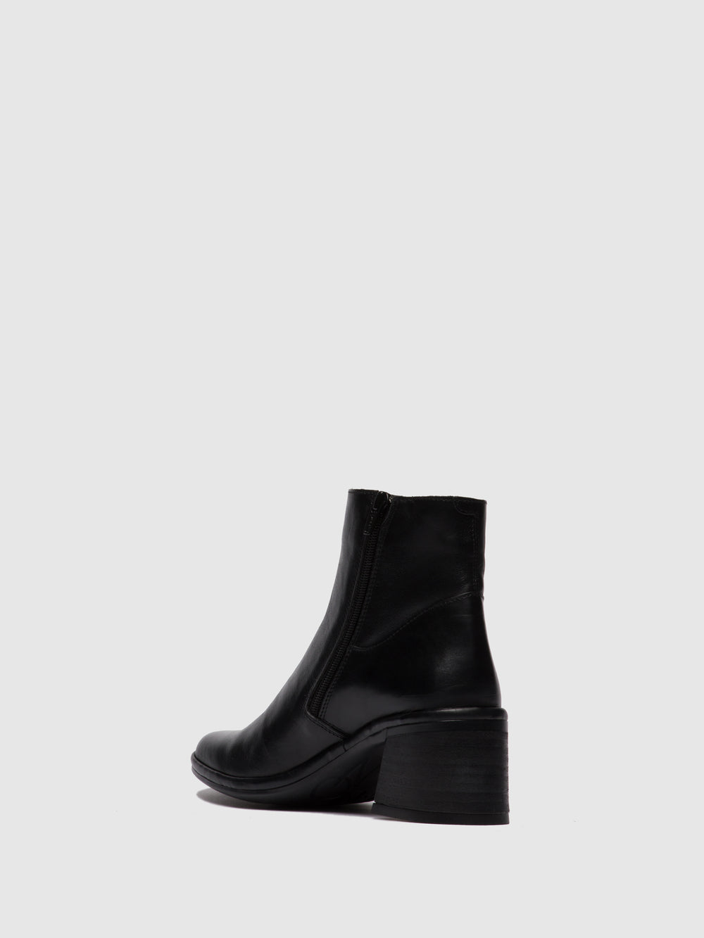 Zip Up Ankle Boots LAPA522FLY COLUMBIA BLACK