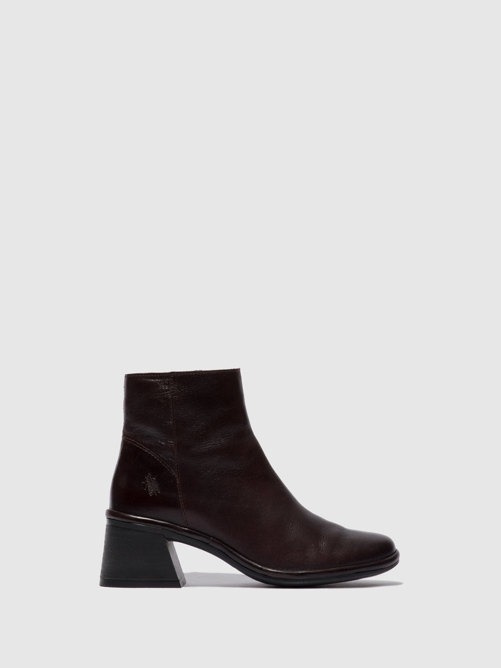 Zip Up Ankle Boots LAPA522FLY COLUMBIA WINE