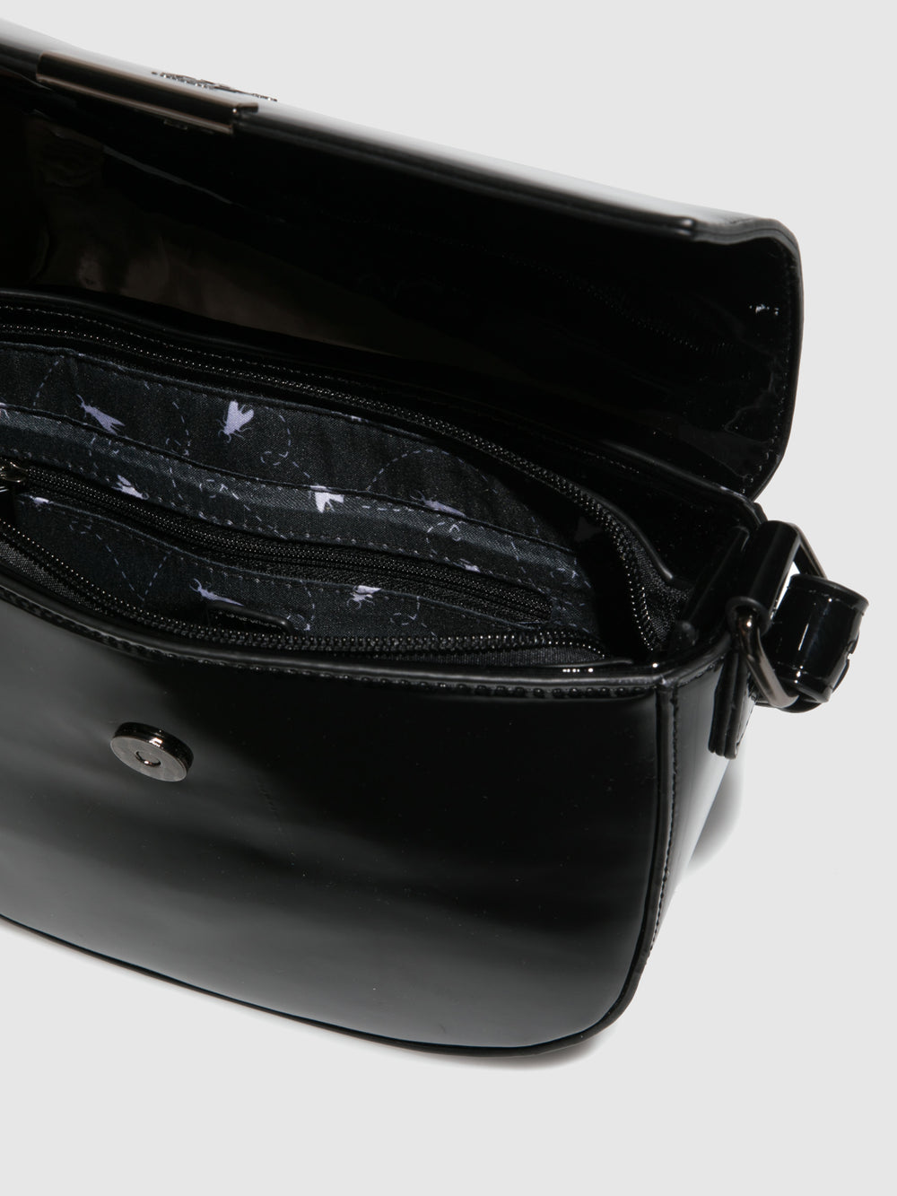 Shoulder Bags ALVO694FLY ARTEMIS BLACK