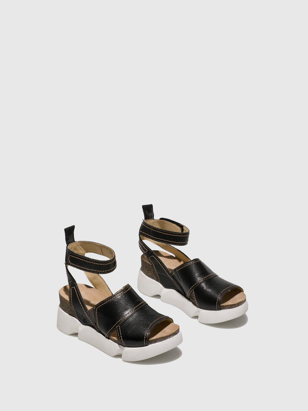 Ankle Strap Sandals SOBE579FLY BLACK