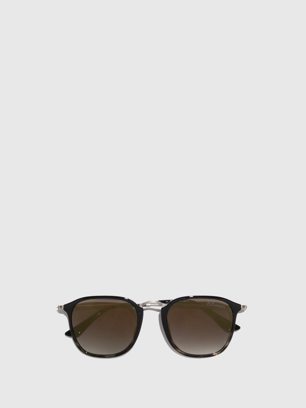 Black Clubmaster Style Sunglasses
