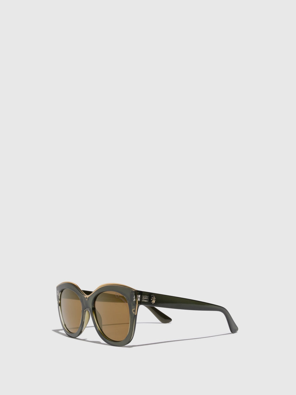 Butterfly Sunglasses E124010 BROWN