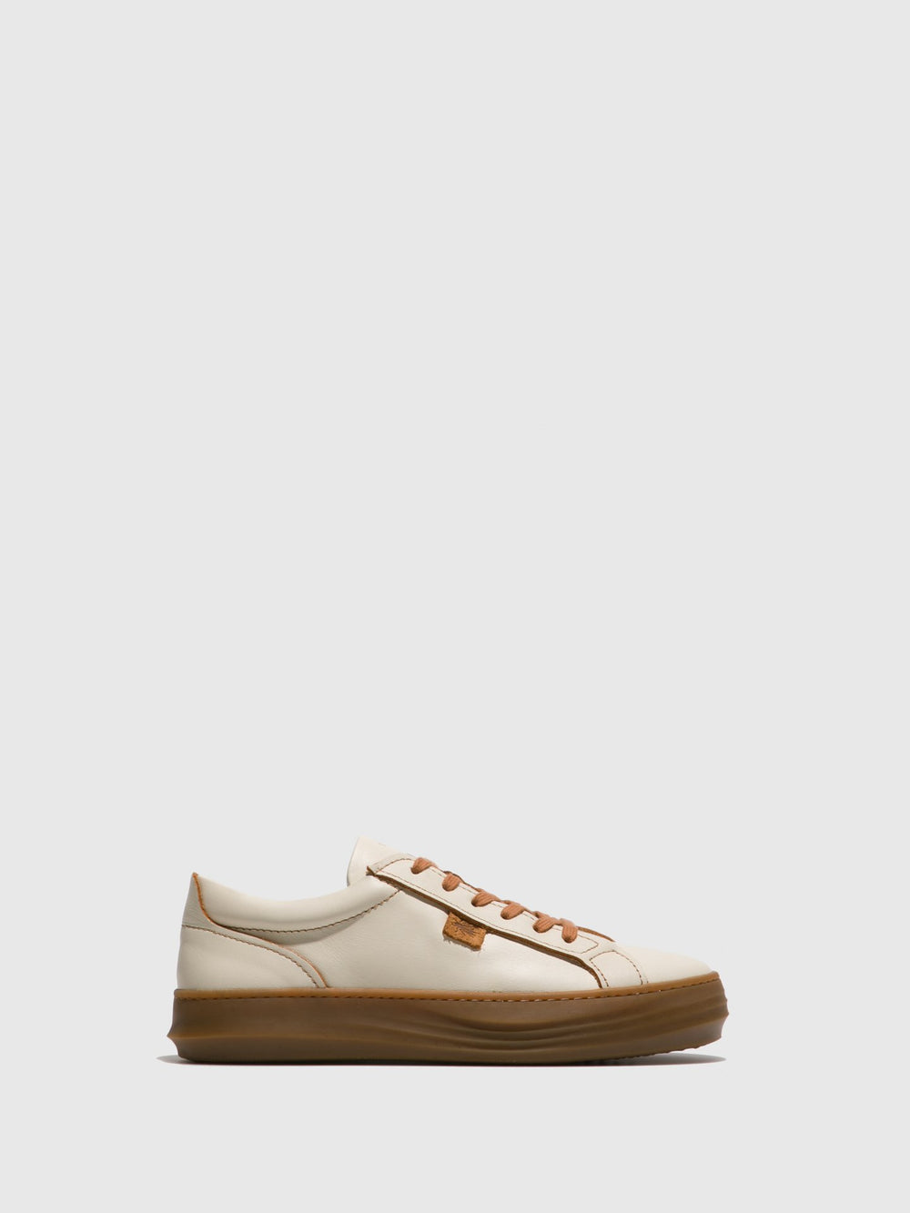 Wheat Lace-up Trainers