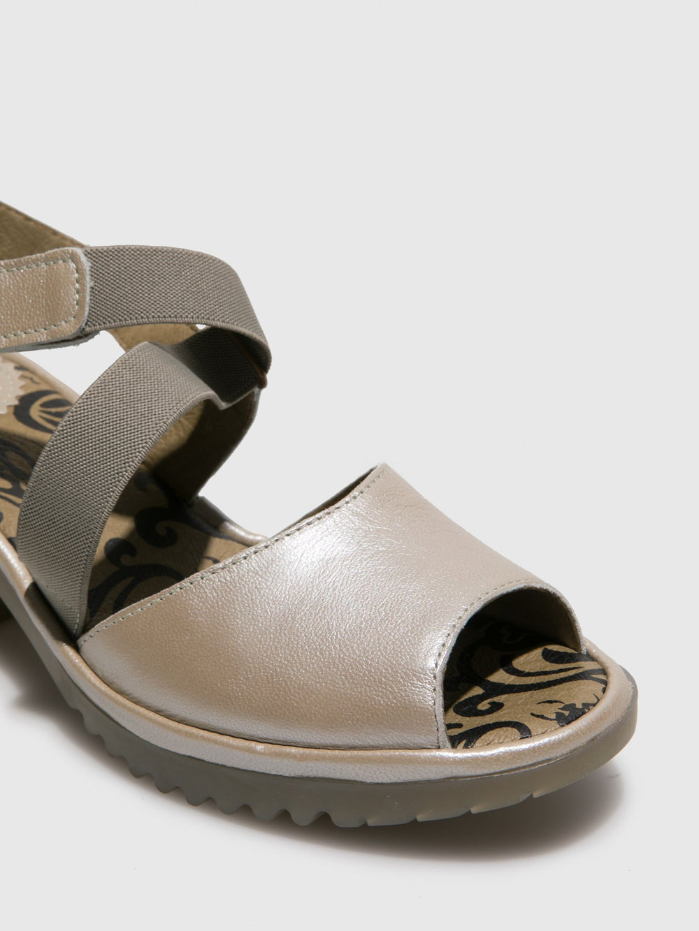 Velcro Sandals WUNI135FLY SILVER