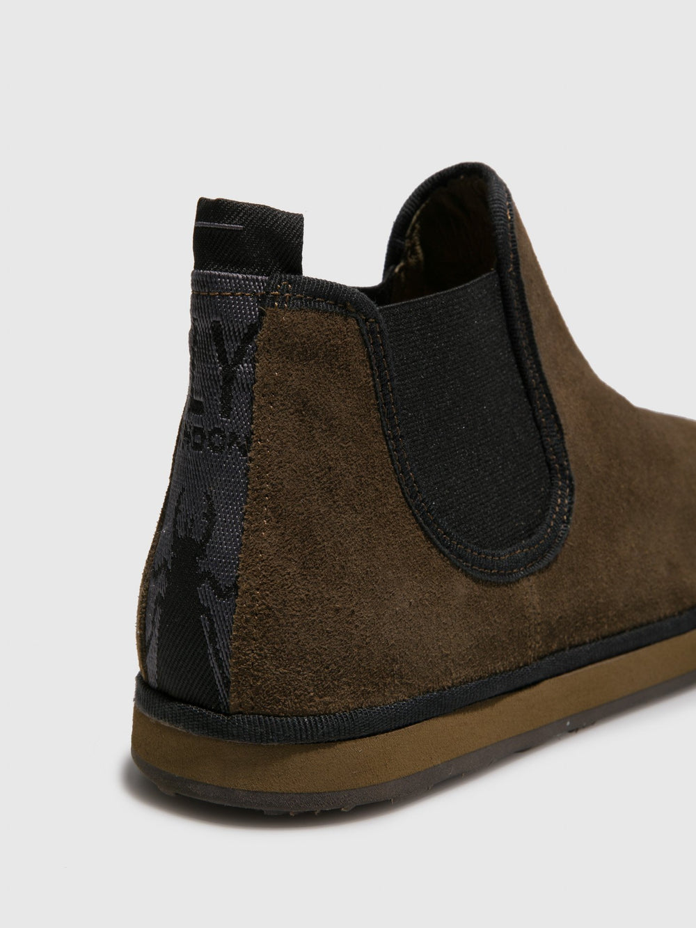 Olive Chelsea Ankle Boots