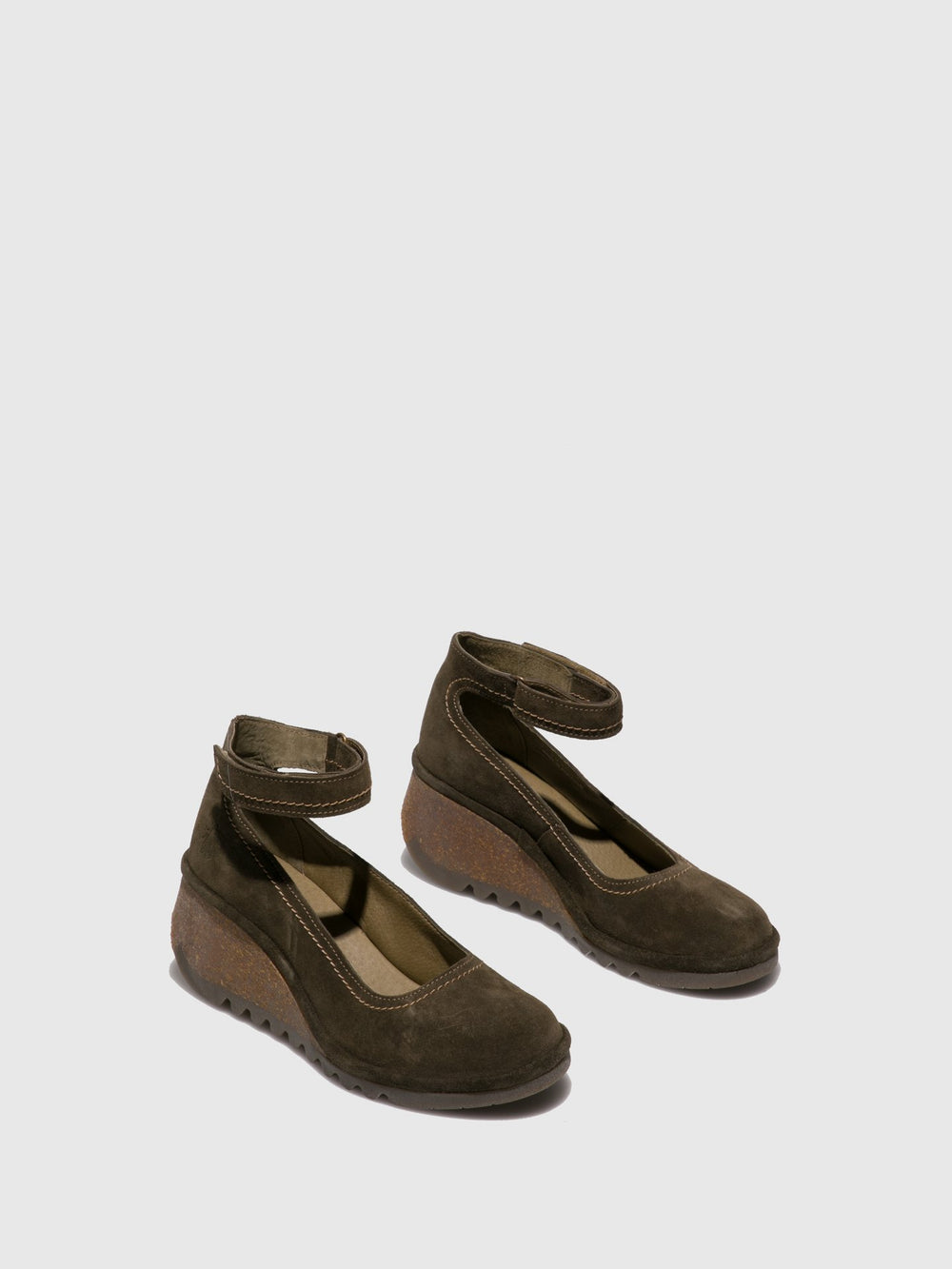 Olive Wedge Shoes