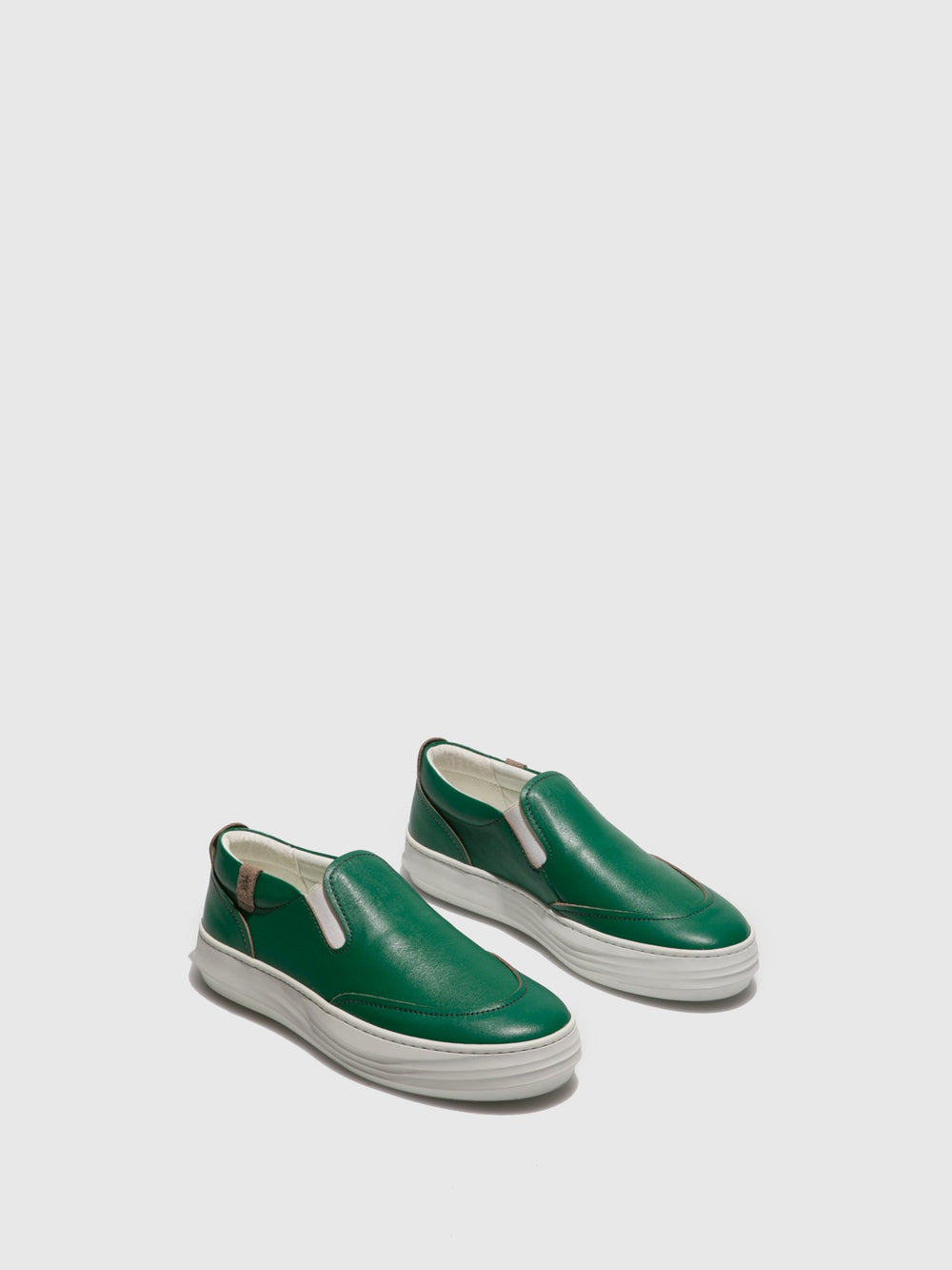 Green Slip-on Trainers