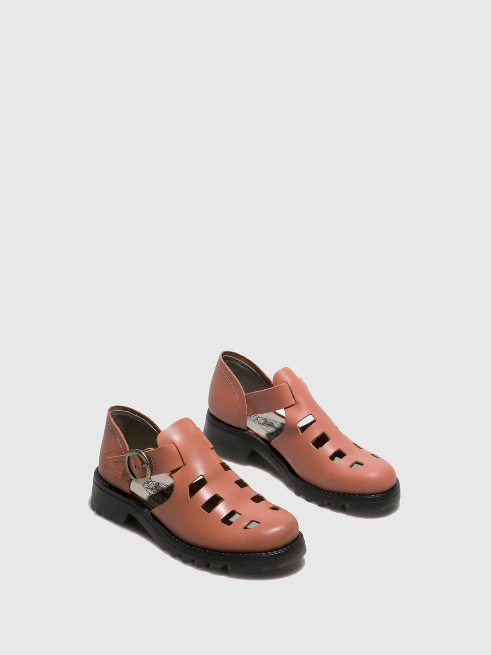 Pink Buckle Shoes
