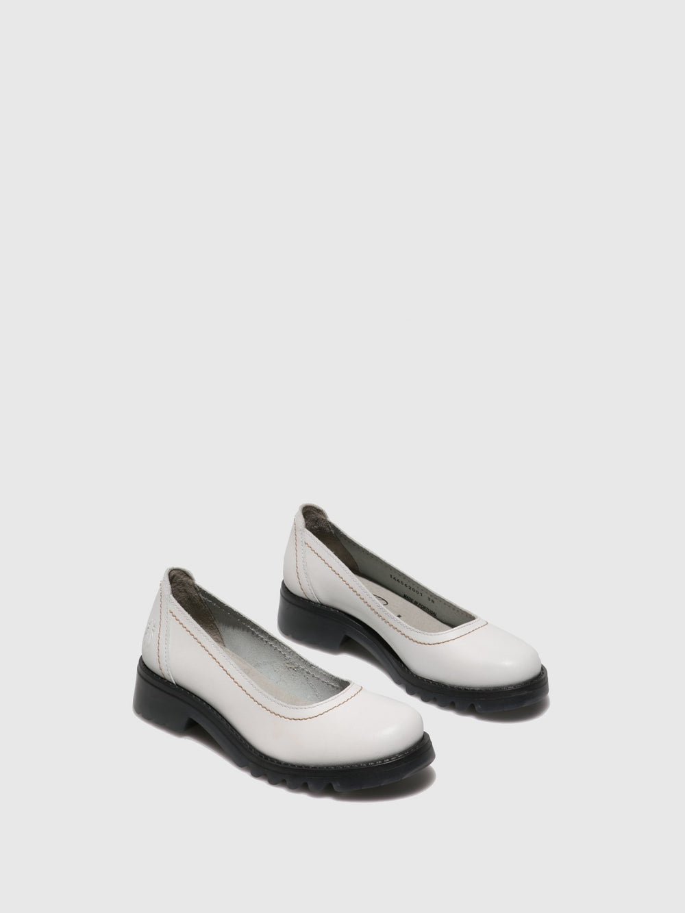 White Round Toe Shoes