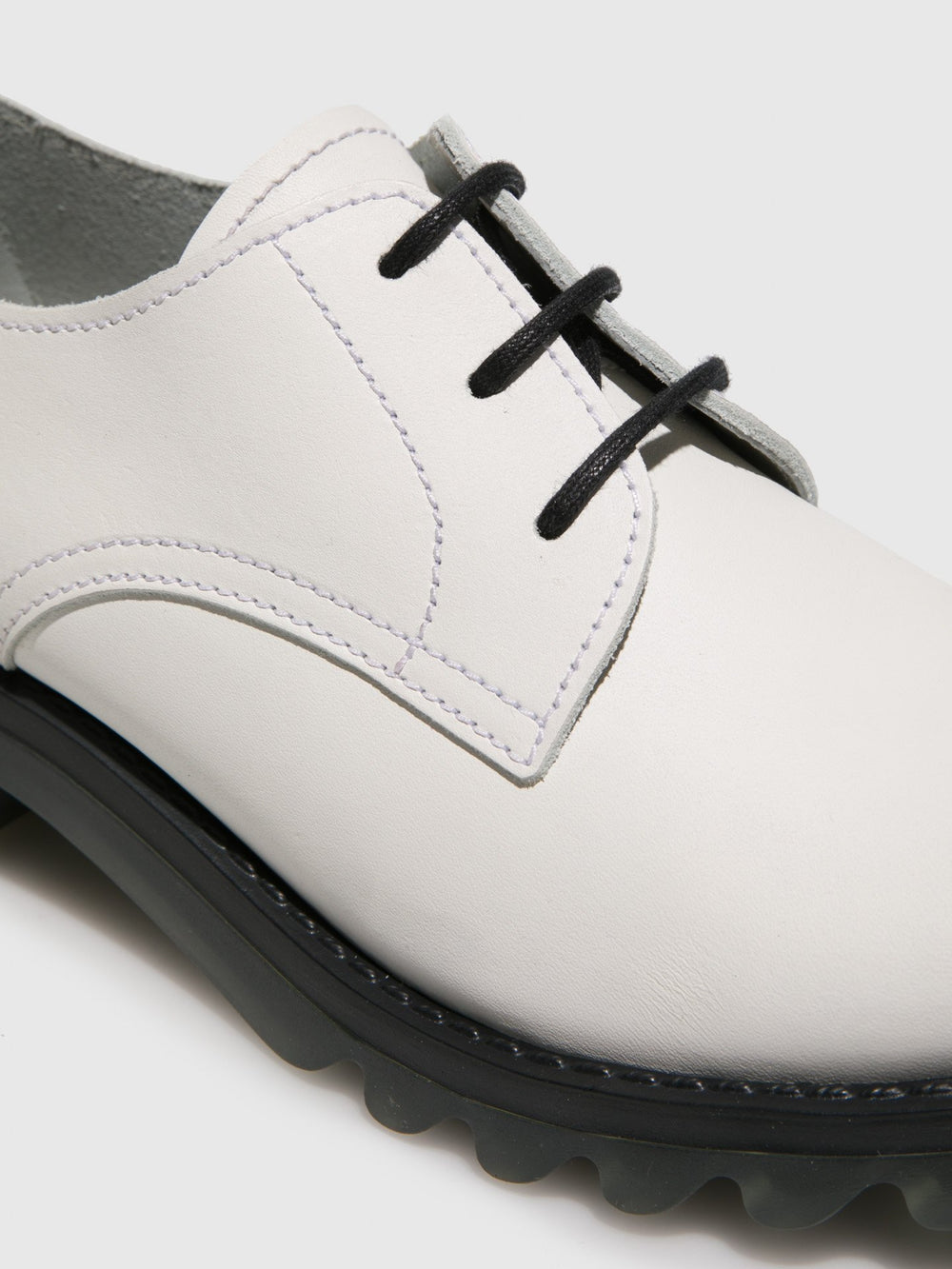 White Lace-up Shoes