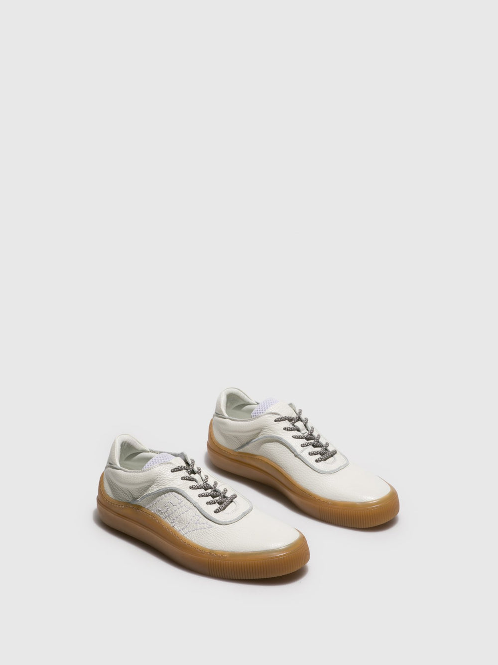 Lace-up Trainers SAMA415FLY WHITE (HONEY SOLE)