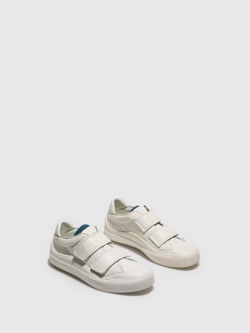 White Velcro Trainers