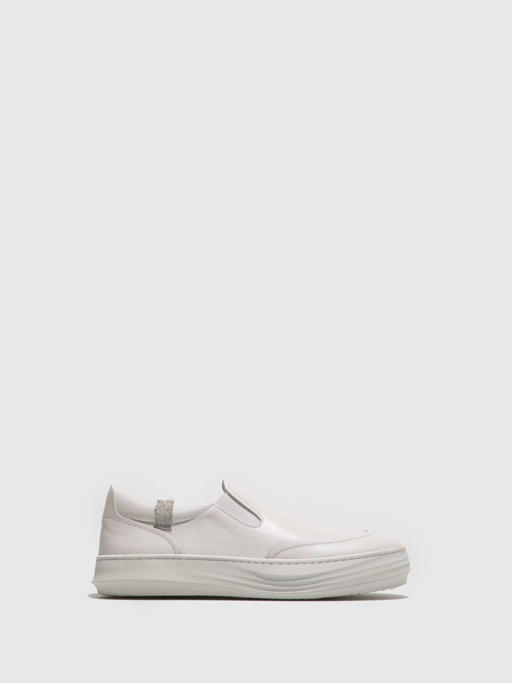 White Slip-on Trainers