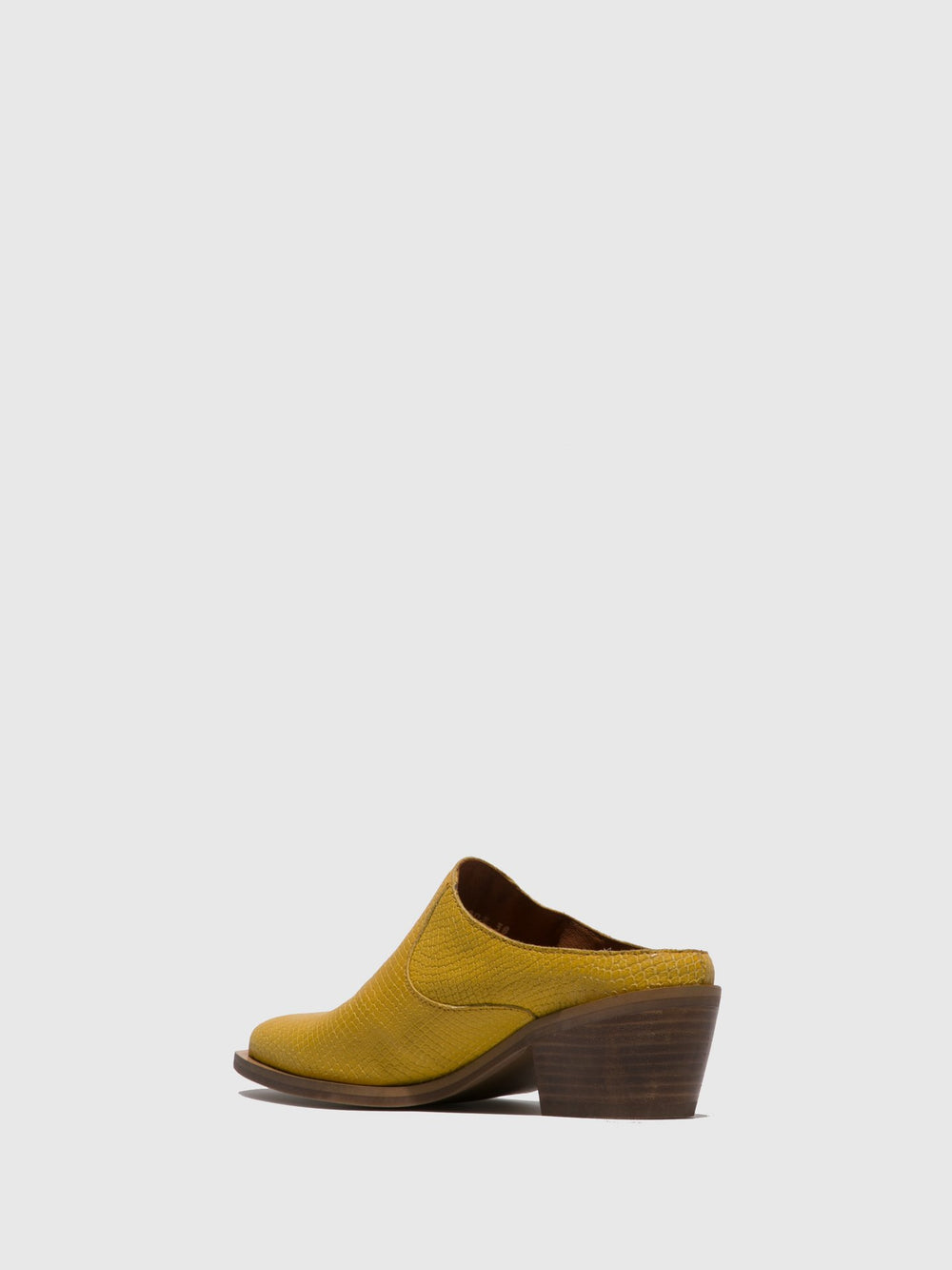 Closed Mules IVOT573FLY YELLOW