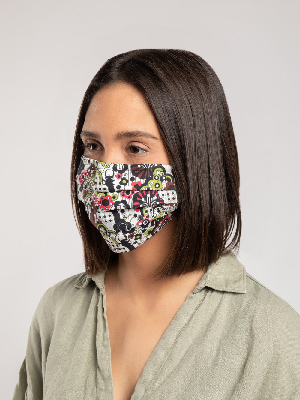 Multicolor Reusable Face Mask (3 Pack)