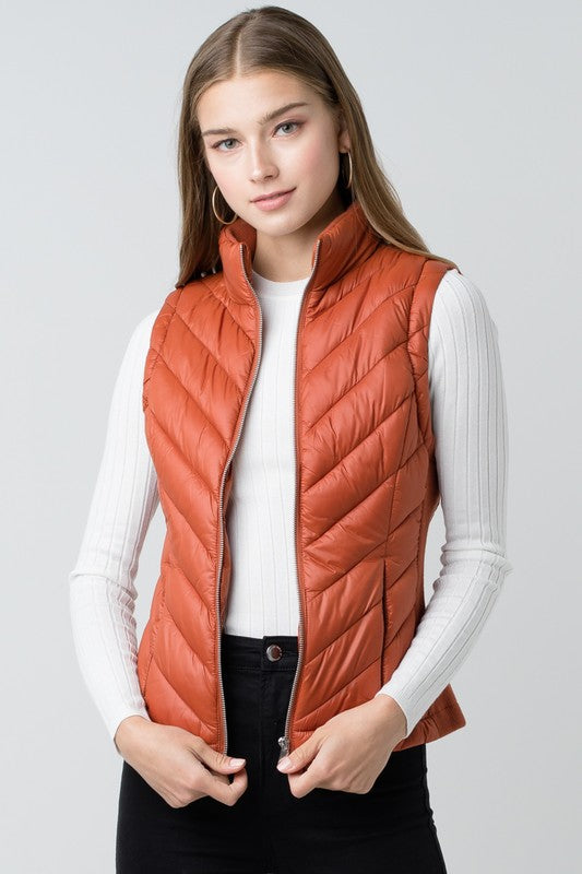 It's A Must Rust Vest