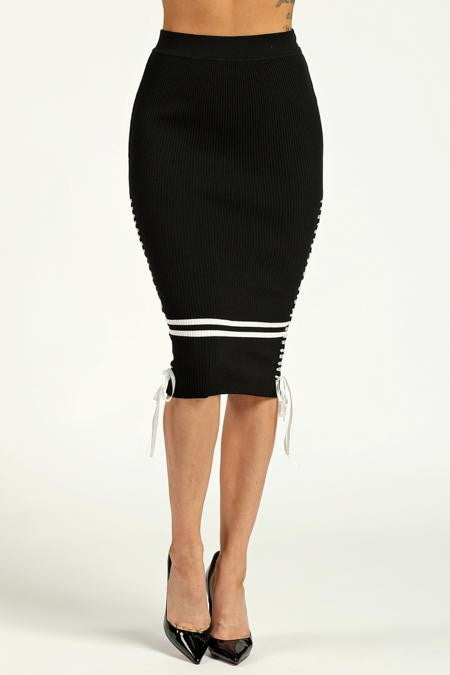 The Perfect Black Skirt